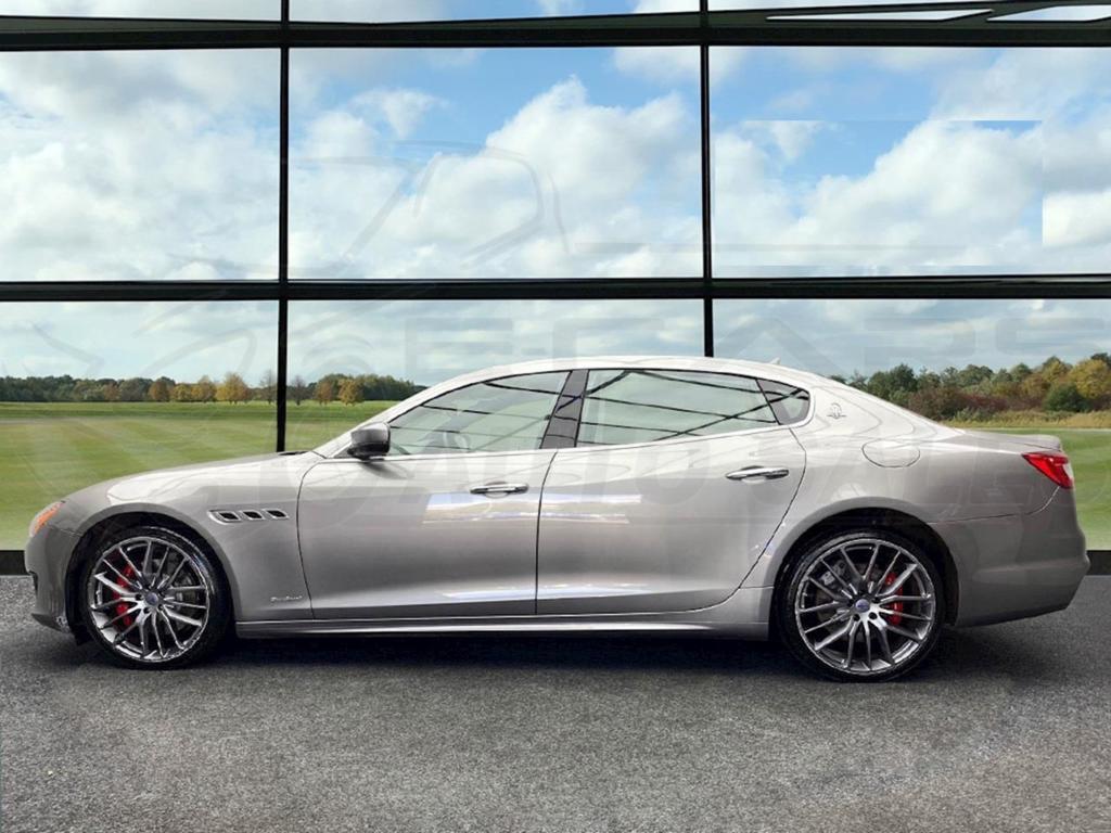 SOLD - #11049 - Maserati Quattroporte V6d GranSport - 2979CC, Automatic, 2018 - E-CARS AUTO SALES